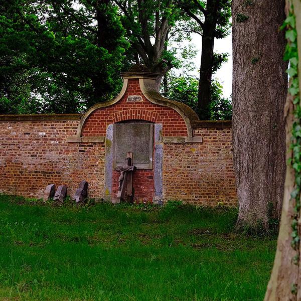 Voormalige toegangspoort kerkhof